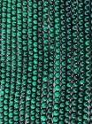 Malachite 8mm pearls on string