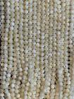 Perline di Madreperla A da 8mm su filo da 40cm
