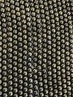 Perline di Pyrite A da 8mm su filo da 40cm