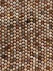 Perline di Pietra di sole da 8mm su filo da 40cm