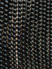 Perline di tormalina nera A da 6mm su filo da 40cm