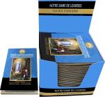 Our Lady of Lourdes Fragrances & Sens Incense paper x30