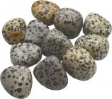 Jaspe dalmatien pierres roulées 250g