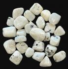 Pierre de Lune blanche Péristérite AB pierres roulées 250g