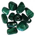 Malachite AA pierres roulées 250g