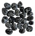 Obsidienne Flocon de Neige A pierres roulées 250g