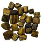 Small Tiger Eye tumbled stones A 250g