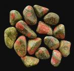 Unakite A pierres roulées 250g