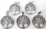 Metal pendant tree of life