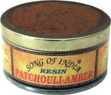 Patchouli-amber incense resin 50g