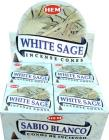 Hem incense white sage cones