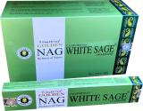 Incenso Vijayshree Golden Nag White Sage 15g