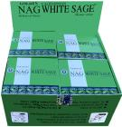 Vijayshree Golden Nag White Sage cones incense