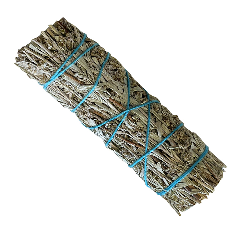 Natural blue sage smudge 3x30g 12cm