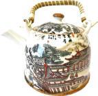 Théière nature chinoise porcelaine