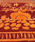 Two Elephants Batik Bedsheet