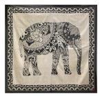 Attaccatura di Parete Elefante  Bianco & Nero