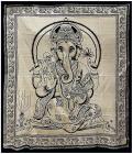 Attaccatura di Ganesha Bianco & Nero