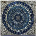 Attaccatura di Parete Mandala & Elefante Blu