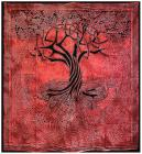 Tree of Life Red bedsheet