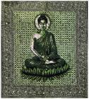 Attaccatura di Parete Verde Buddha