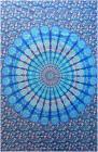 Impiccagione mandala blu e blu