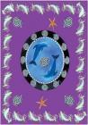 Blue Daulphin arabesk bedsheet