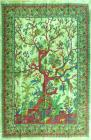 Green Tree of life Mini Bedsheet