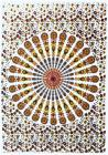 Red & Yellow Mandala Mini Bedsheet