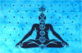 Appeso Mini Seven Chakras blu
