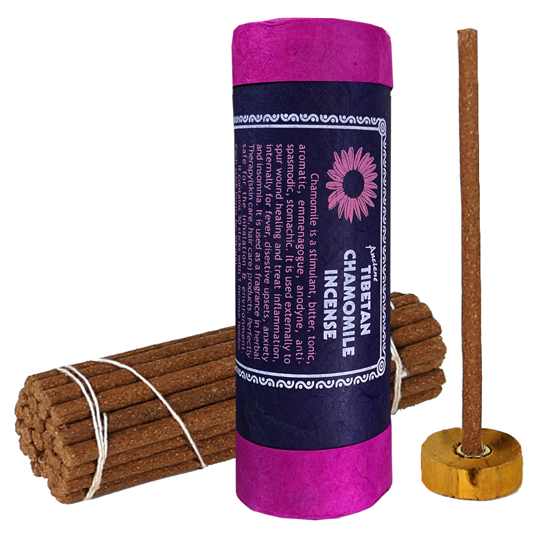 Natural Tibetan Incense Chamomille 35g