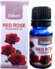 Huile parfumée tulasi rose rouge 10mL x 12