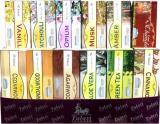 Tulasi hex incense display 12 perfumes