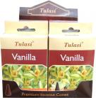 Incense tulasi sarathi cones vanilla