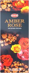 Incense hem amber rose hexa 20g