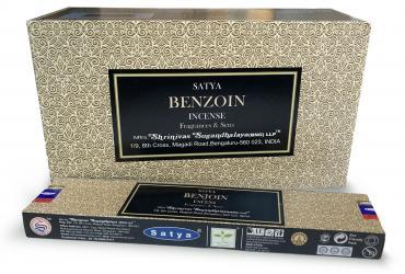 Encens Satya Fragrances & Sens Benjoin 15g