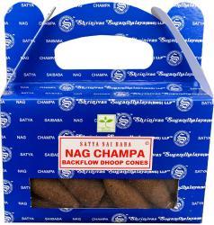 Backflow Cones Satya Nag Champa set of 6