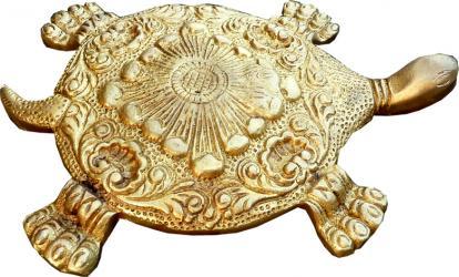Turtle brass 13.5cm
