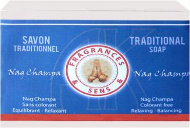 Fragrances & sens nag champa soap 100g