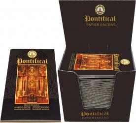 Papier d'encens Fragrances & Sens Pontifical x30