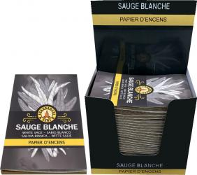 White Sage Fragrances & Sens Incense paper x30