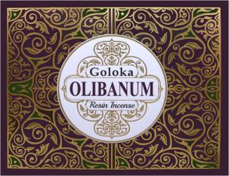 Goloka Oliban resin display stand 12 x 50g