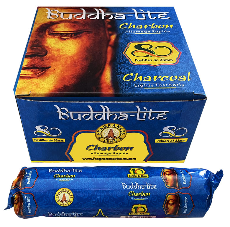 Fragrances & Sens Buddha Lite High Quality Charcoal 33/80