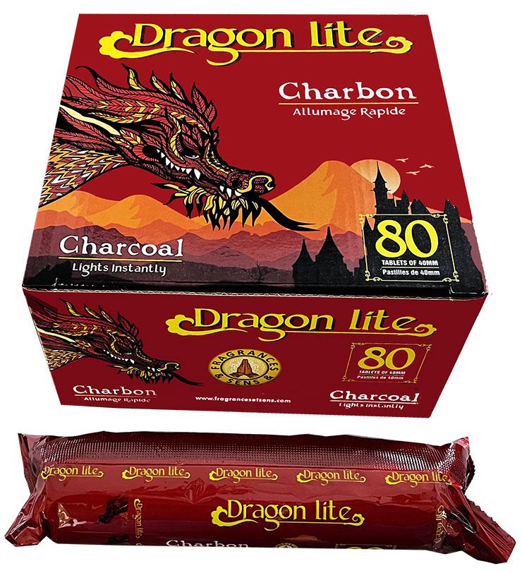 Charbon Fragrances & Sens Dragon Lite Qualité Supérieure 40/80