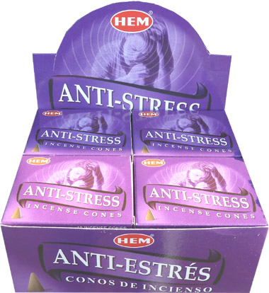 Encens hem anti stress cones