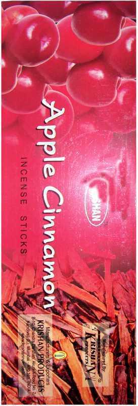 Encens Krishan Pomme Cannelle 8 Bts