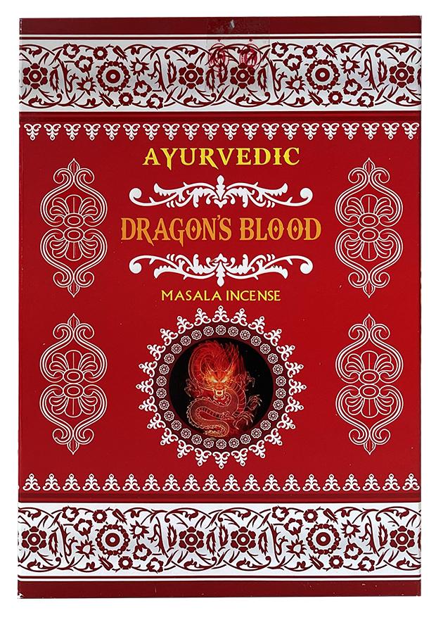 Encens Ayurvedic Sang de Dragon 15g