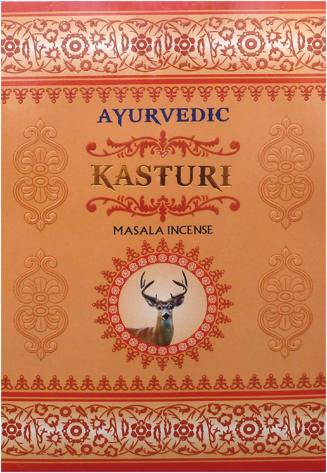 Encens Ayurvedic Kasturi Musk 15g