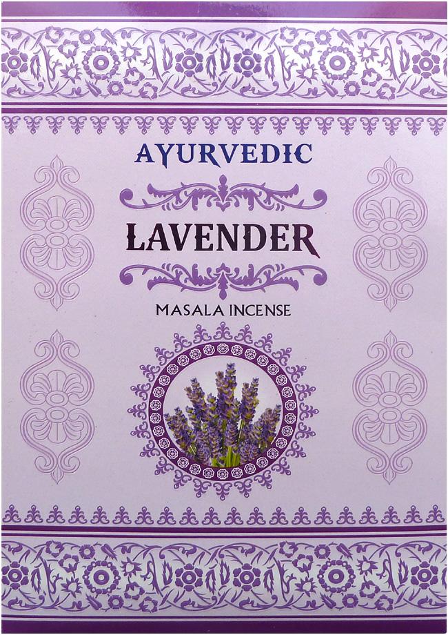 Incenso Ayurvedic alla Lavanda 15g