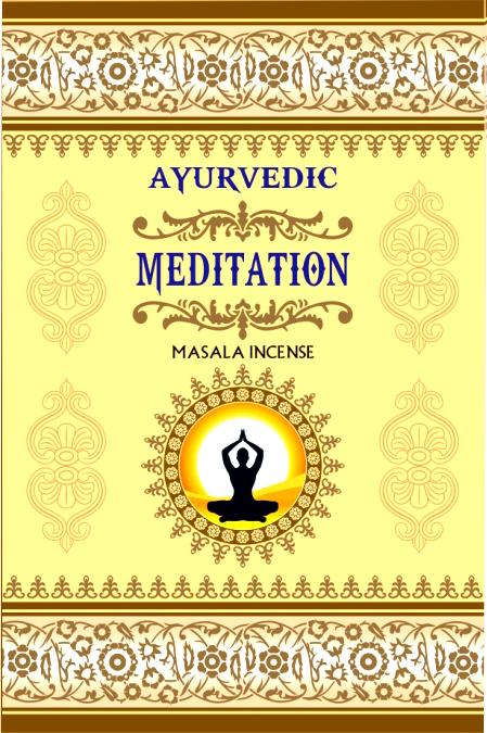 Incenso Meditazione ayurverda 15g
